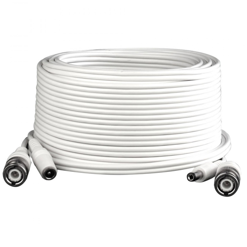 Cablu mufat bnc semnal+alimentare 40M BNC CABLE