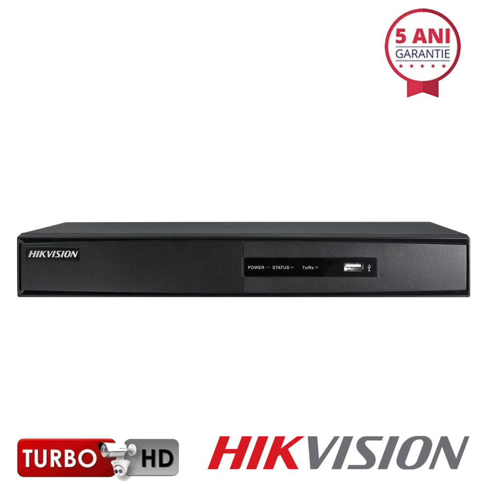 Dvr hdtvi cu 16 canale video HIKVISION DS-7216HQHI-F2/N/A TURBOHD 3.0