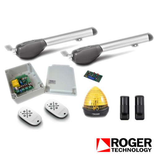 Kit automatizare poarta batanta roger technology KIT R20/300