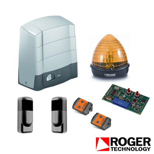 Kit automatizari porti culisante roger technology KIT G30/2200