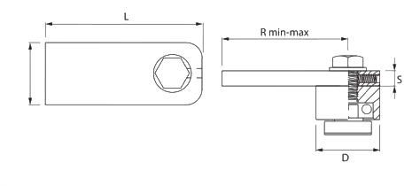 Balama superioara pe rulment FAAC 450.2
