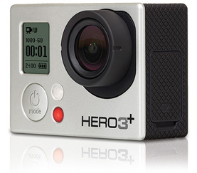 Camera video pentru sportivi GoPro HERO3+ Silver Edition