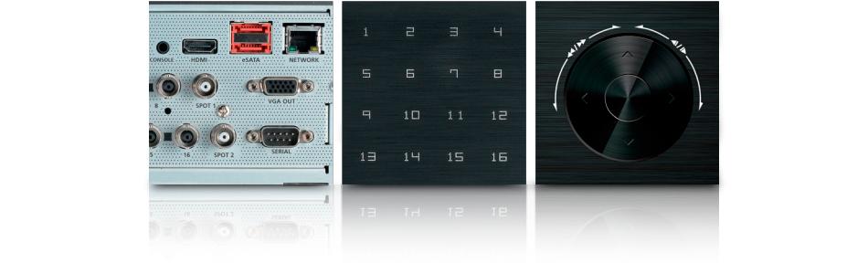 DVR Stand alone cu 16 canale video Samsung SRD-1653D