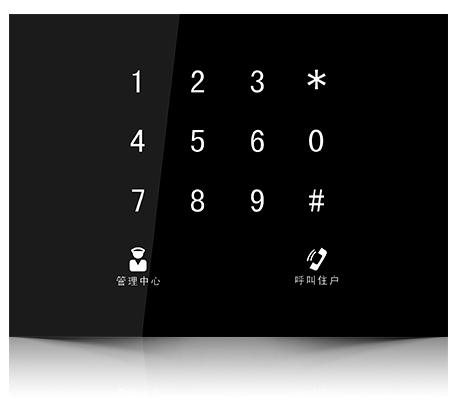 Videointerfon de exterior Dahua DH-VTO1210B-X