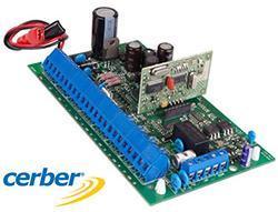 Centrala hibrida de alarma Cerber C816W