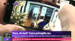 Reportaj DIGI24 despre sistemul de alarma cu camera IP