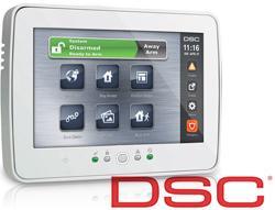 Noua tastatura LCD PTK5507 cu Touch Screen de la DSC