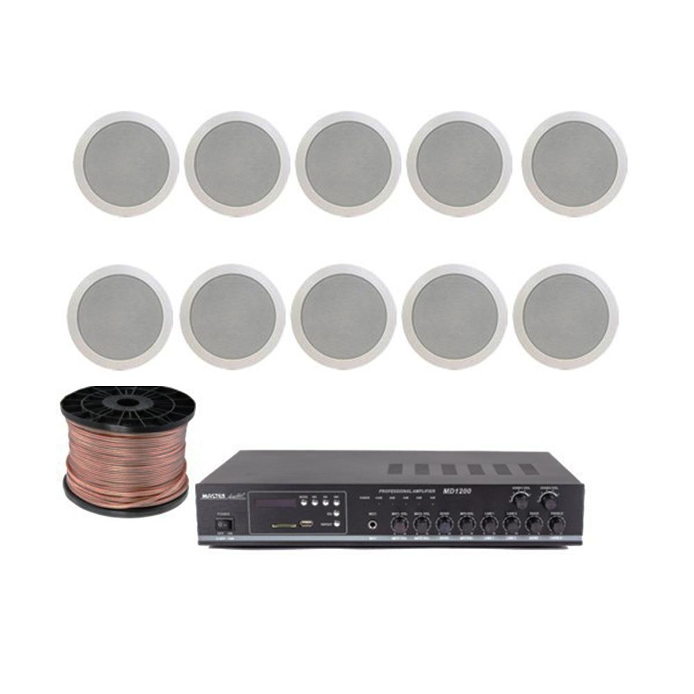 Sistem sonorizare STUDIO-M Chillout-3 Ceiling, 2 zone, USB imagine spy-shop.ro 2021