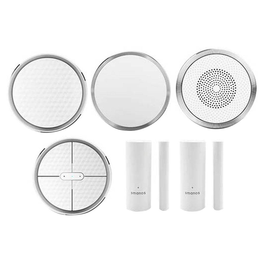 Sistem de alarma wireless Smanos K1, W-Fi, 868 MHz, RF 80 m, pet immunity