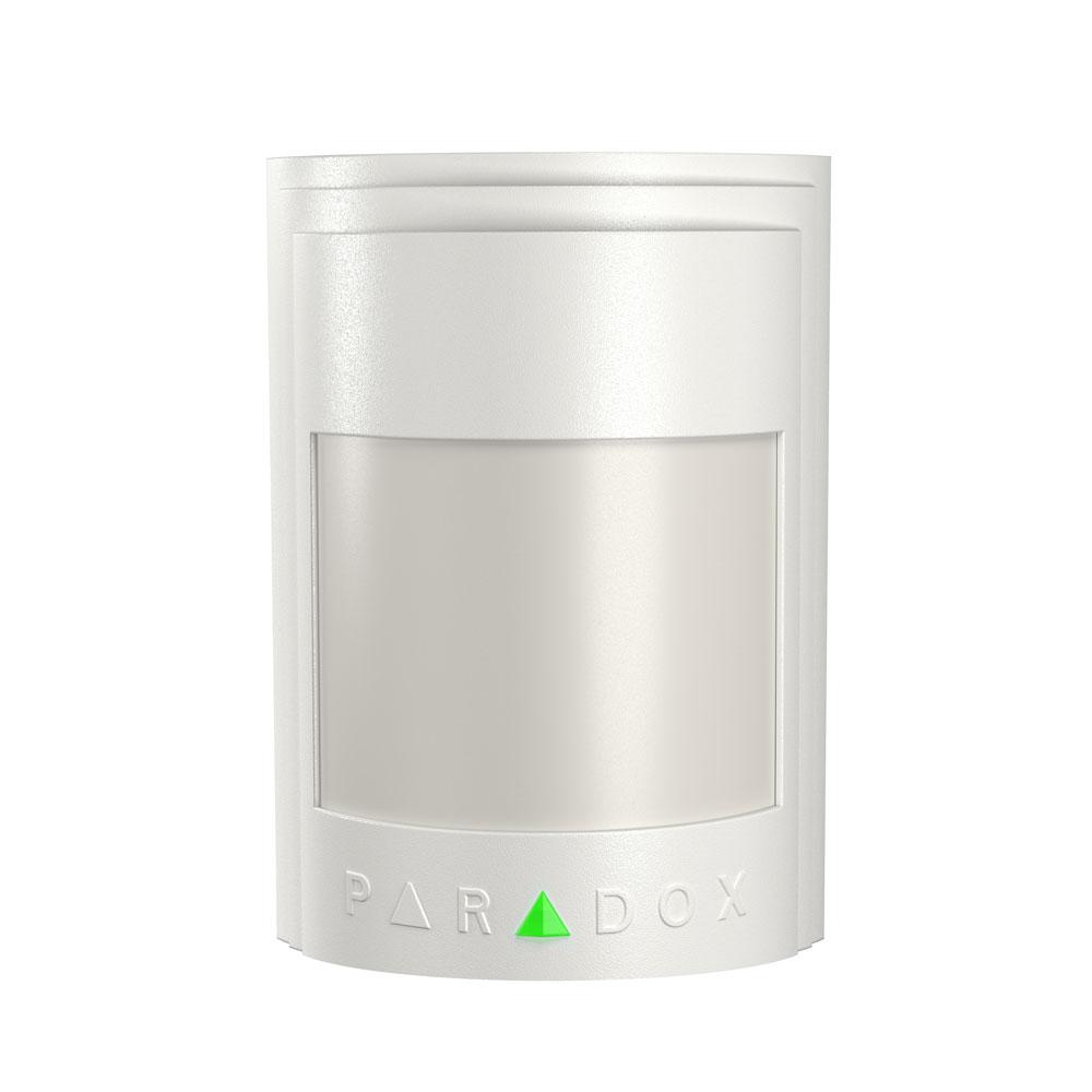 Detector de miscare analog dual PIR Paradox 476+, 10.6 x 10.6 m, 110 grade, SMD imagine spy-shop.ro 2021