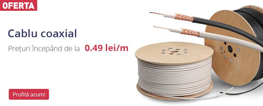 Oferta cablu coaxial