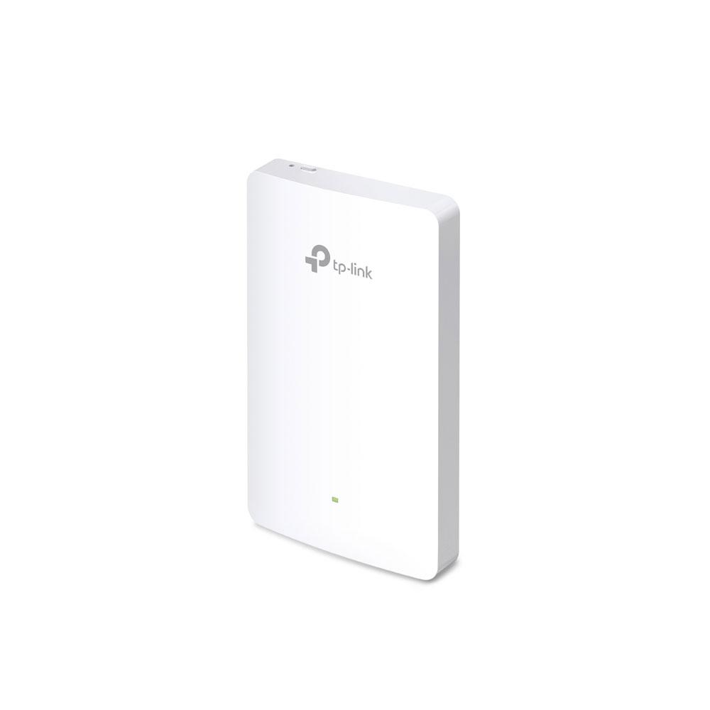 Acces Point TP-Link EAP225-WALL, 4 porturi, 2.4/5.0 GHz, 1200 Mbps, PoE imagine spy-shop.ro 2021