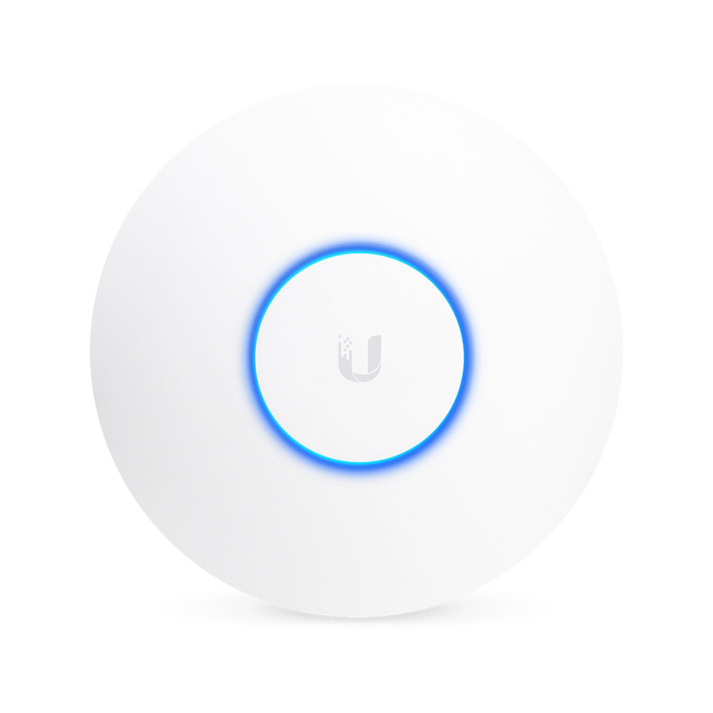 Acces Point wireless Dual Band Ubiquiti UniFi Wave 2 UAP-AC-HD, 800 Mbps/1733 Mbps, 2.4/5.0 GHz, 4x4 MU-MIMO, 2 porturi, PoE