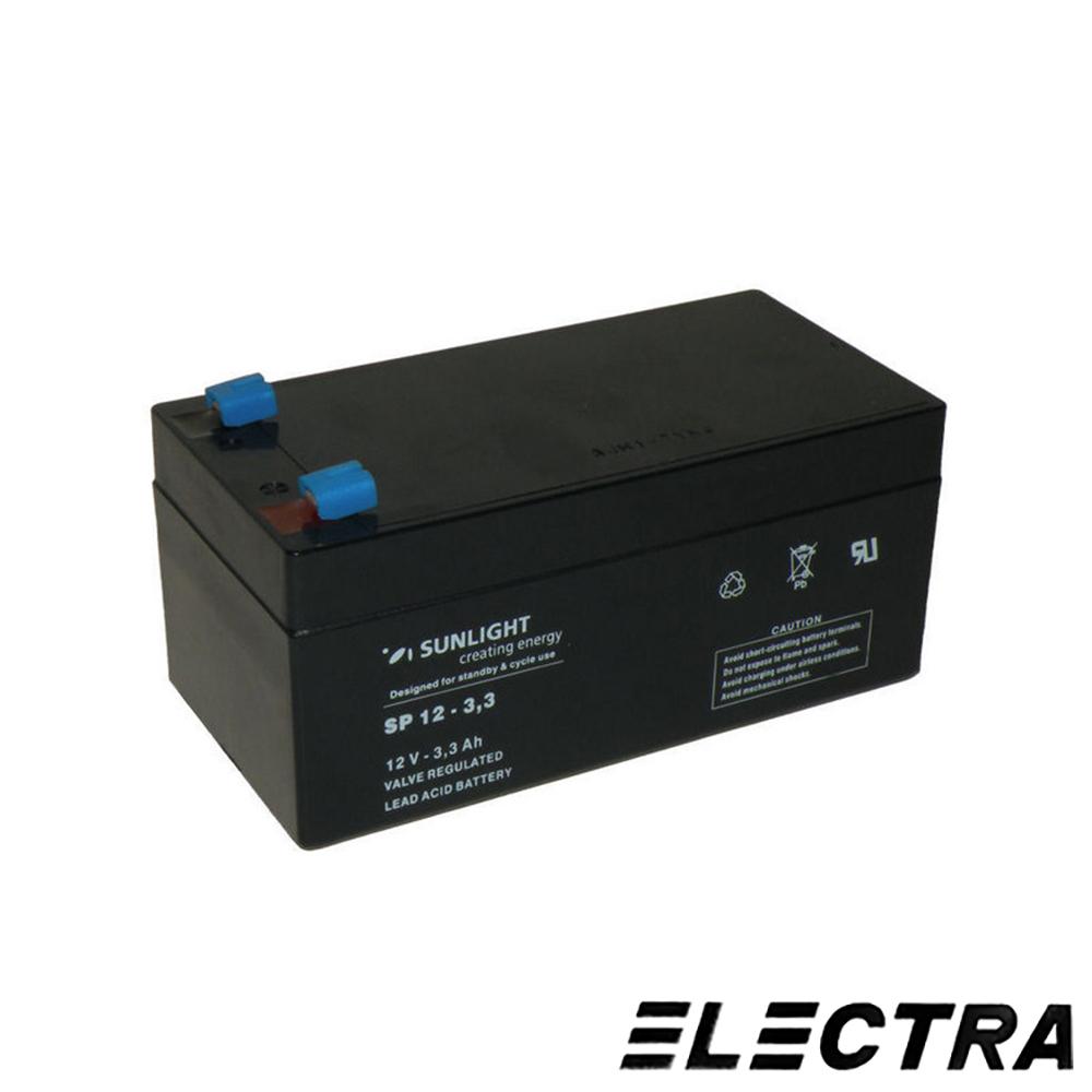 ACUMULATOR SUNLIGHT ELECTRA ACM BSB 3.4 AH