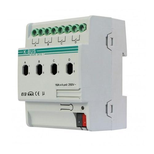 Actuator cu comutare KA/R0416.1, 4 canale, transmitere status, declansare la praguri imagine spy-shop.ro 2021