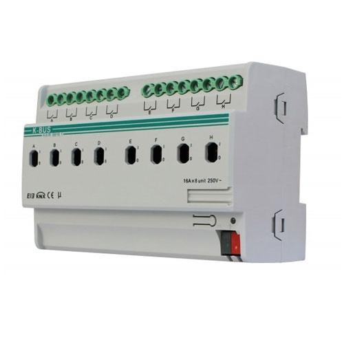 Actuator cu comutare KA/RO0816.1, 8 canale, oprire/pornire temporizata, declansare la praguri imagine spy-shop.ro 2021