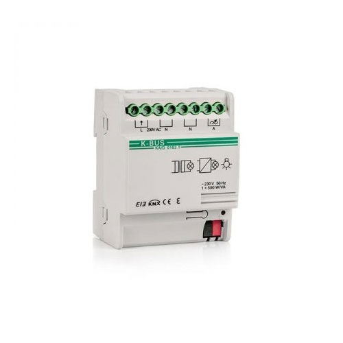 Actuator cu dimmer KA/D0103.1, 1 canal, transmitere status, dimming relativ imagine spy-shop.ro 2021
