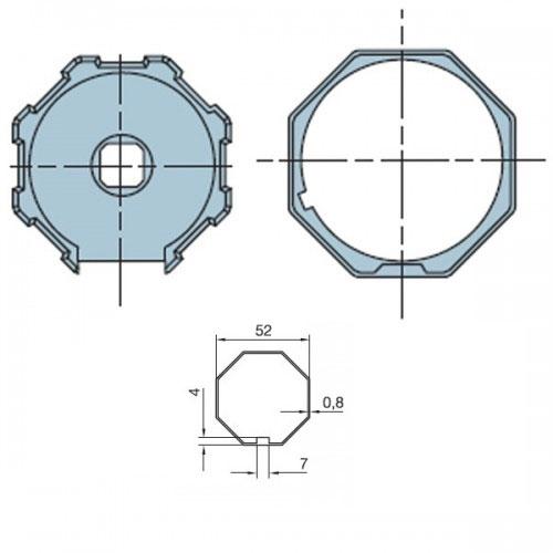 Adaptor octogonal Nice 505.05200 imagine spy-shop.ro 2021
