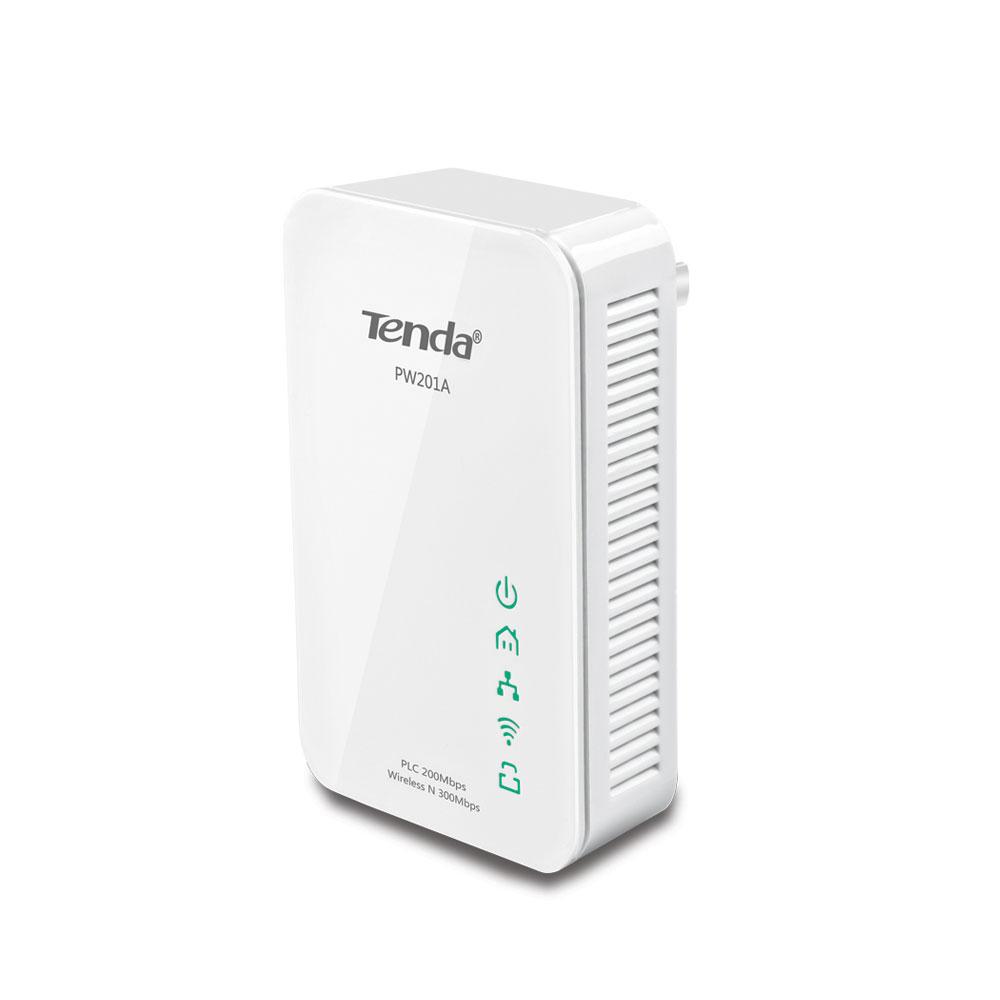 Adaptor powerline Gigabit Tenda PW201A, 2.4 GHz, 300 Mbps