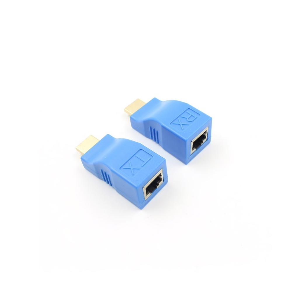 Adaptor prelungire HDMI prin cablu retea