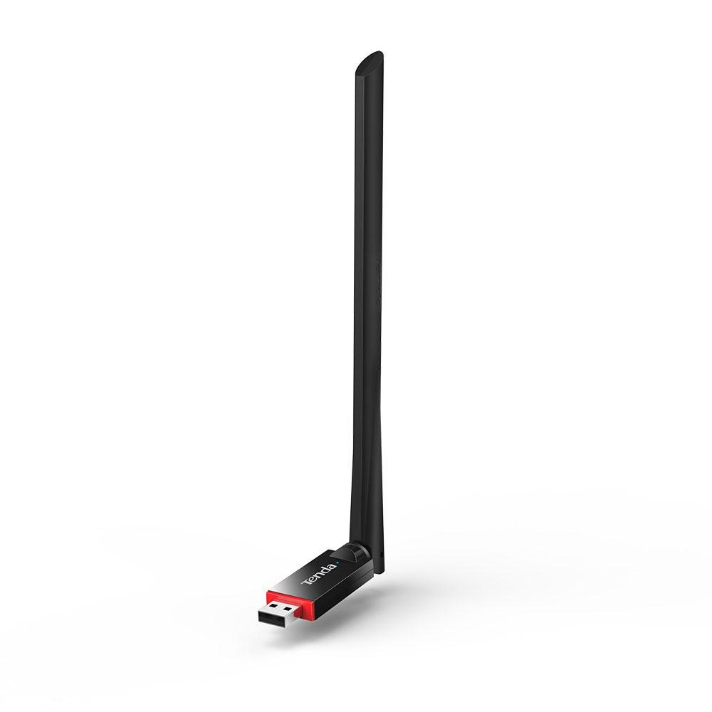 Adaptor wireless Tenda U6, USB, 2.4 GHz, 200 Mbps