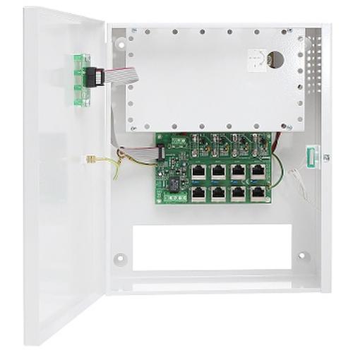 Sursa de alimentare cu impuls Pulsar POE 044816, 4 camere IP, 4 iesiri, 48 V DC imagine spy-shop.ro 2021