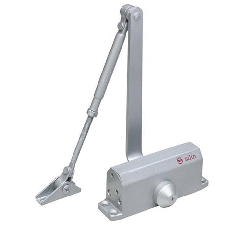 Amortizor hidraulic cu blocare pentru usa Silin SA-5012ADs, 25-45 Kg