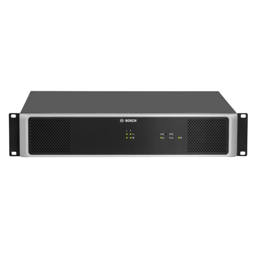 Amplificator audio Bosch PAVIRO, clasa D, 2 x 500 W imagine spy-shop.ro 2021