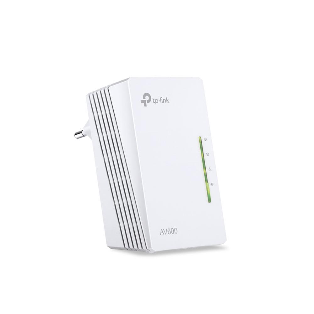 Adaptor powerline TP-Link TL-WPA4220, 300 Mbps, 300 m, control de pe telefon imagine spy-shop.ro 2021