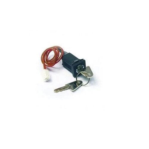 Ansamblu comutator cu cheie Advanced MXP-519F, 2 pozitii, contact momentan, instalat