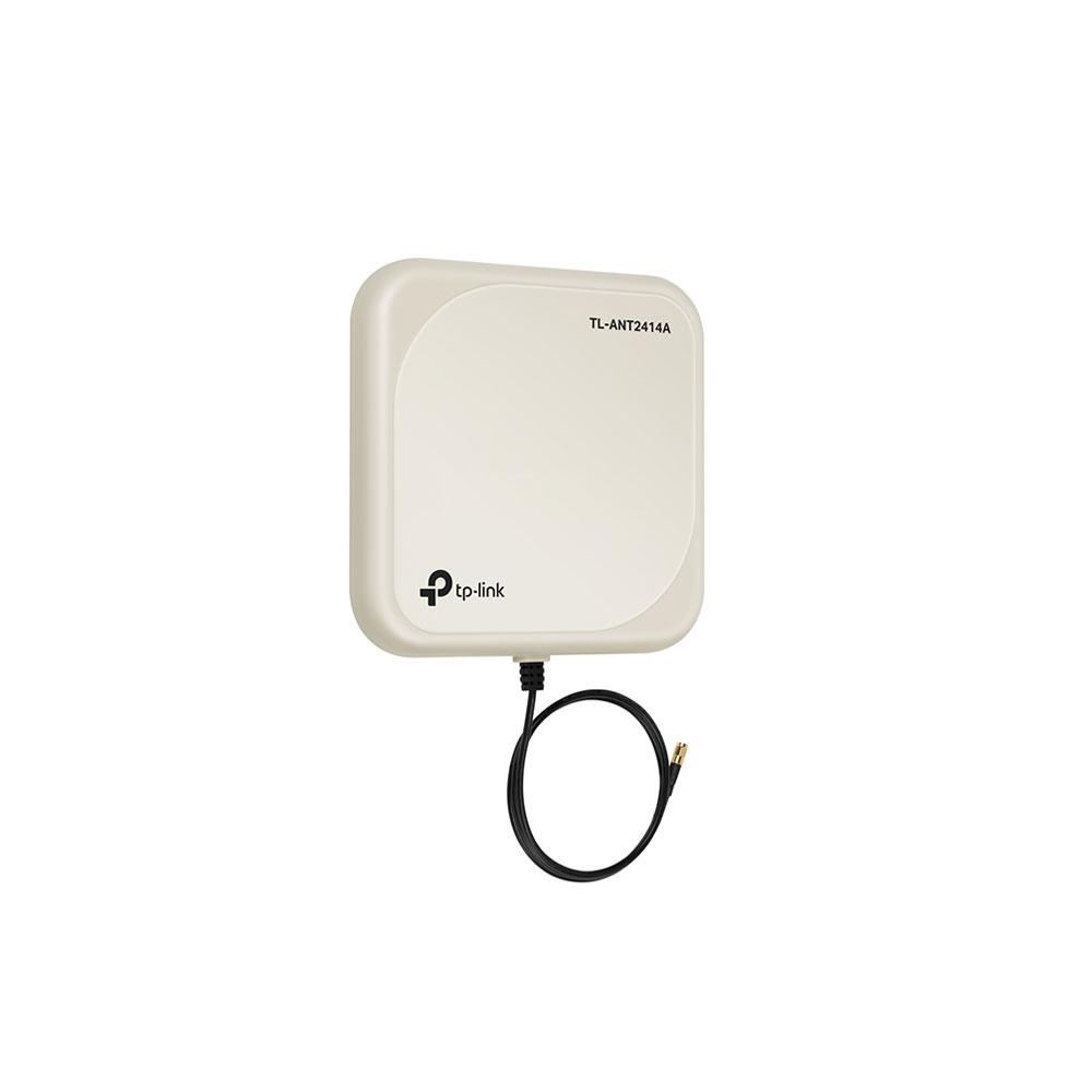 Antena directionala tip panou TP-Link TL-ANT2414A, interior/exterior, 2.4 GHz, 14 dBi, conector RP-SMA