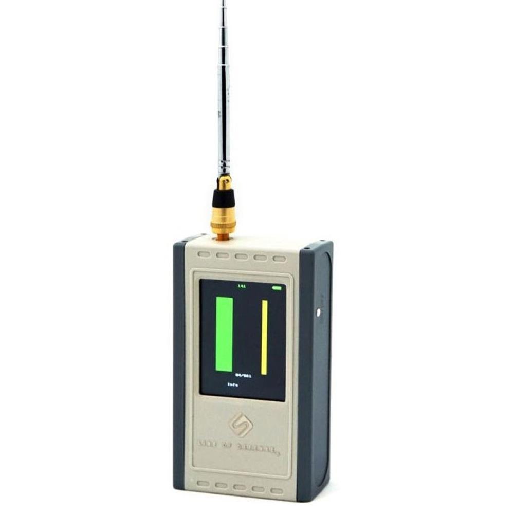 Detector de camere video (cablate) ascunse ARCANE S-200, 80dB, 3 ore autonomie