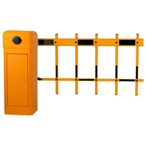 Bariera de acces automata cu brat tip gard YK-BAR1024-6-L, 4.5 m, 6 sec, 220 V imagine spy-shop.ro 2021