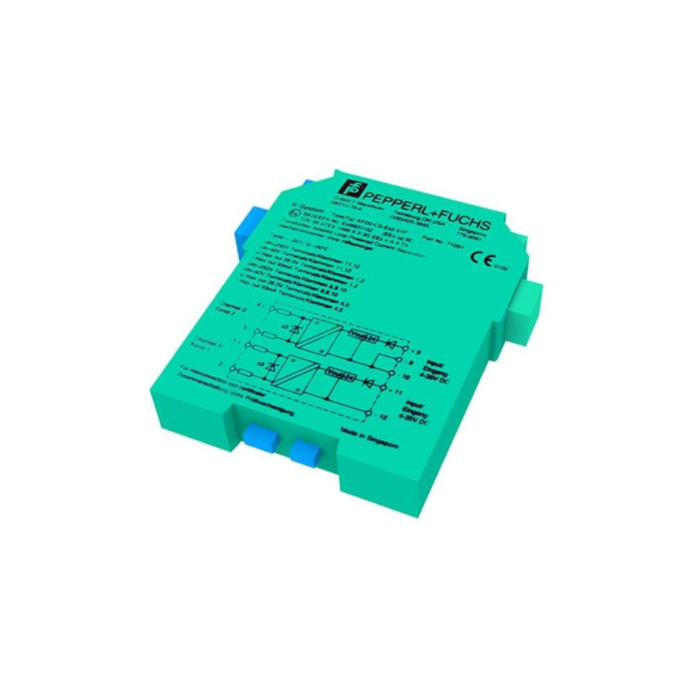 Bariera de protectie izolata Hochiki CDX IS&EXD KFDO-CS-EX2.51P, 2 canale, SIL2