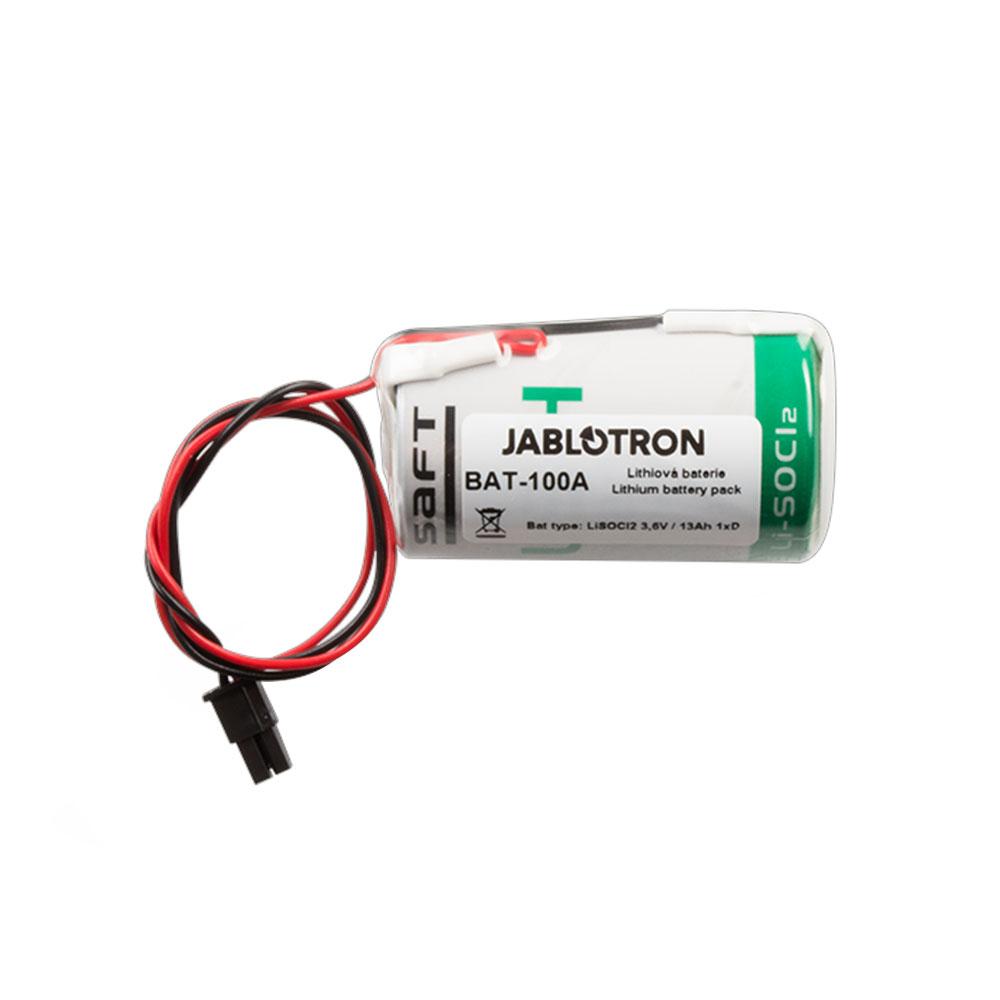 Baterie litiu pentru sirena Jablotron BAT-100A.01, 3.6V, 13 Ah, compatibil cu JA-163A