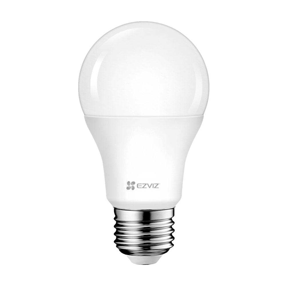 Bec smart LED WiFi EZVIZ CS-HAL-LB1-LWAW, 2.4 GHz, 806 lm, 8 W, control de pe telefon imagine spy-shop.ro 2021