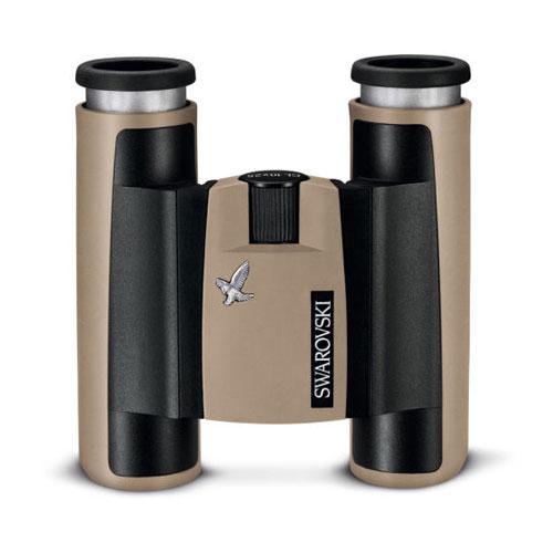 Binoclu Swarovski CL Pocket 10x25 B, maro