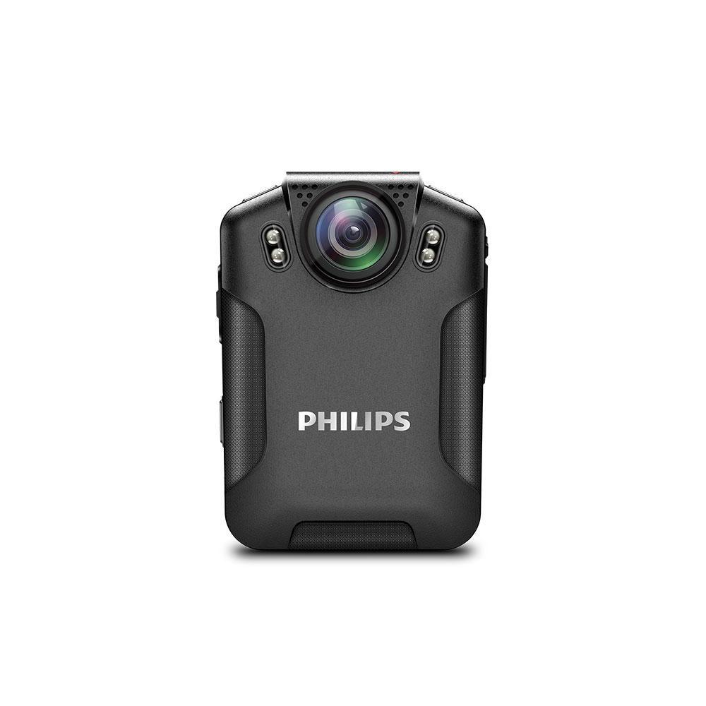 Body camera Full HD Philips VTR8101, 34 MP imagine