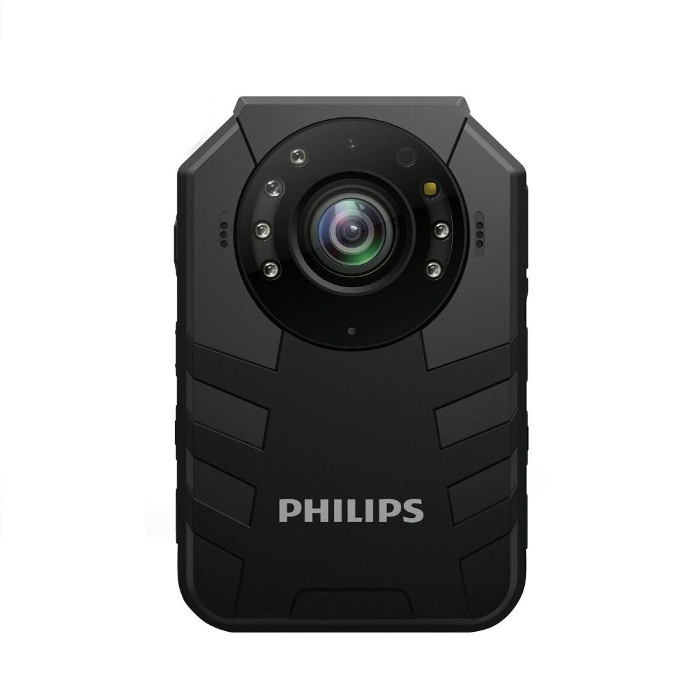 Body camera Full HD Philips VTR8400, 2 MP, WIFI, GSM 4G, GPS / Beidou, 64 GB imagine