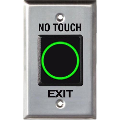 Buton cerere iesire fara atingere Seco-Larm SD 927PKC-NEQ, inox imagine spy-shop.ro 2021