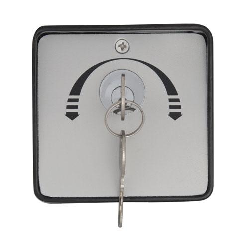 Buton cu cheie YKS-803D2, aparent, 2 chei, 2 comutatoare