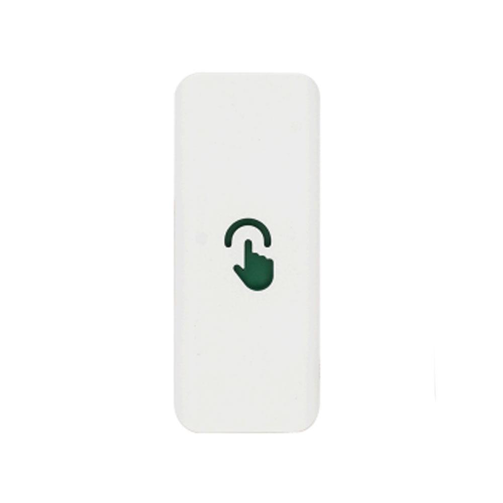 Buton de iesire capacitiv T2, NO/COM/NC, aplicat, 500.000 actionari, interior