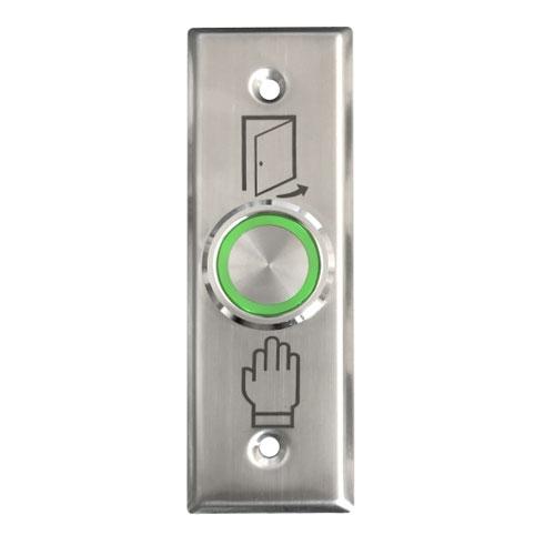 Buton de iesire cu actionare prin apasare SG-26-RG, ingropat, 12 Vcc, ingropat, inox imagine spy-shop.ro 2021