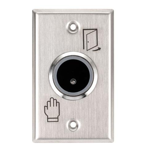 Buton de iesire ISK-801E, infrarosu, aparent/ingropat, inox imagine spy-shop.ro 2021