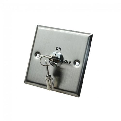 Buton de iesire cu cheie Headen S86K, inox, ingropat imagine