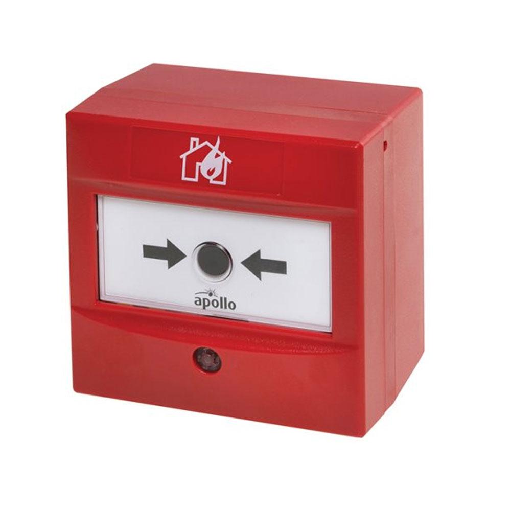 Buton de incendiu adresabil Apollo fire detectors SA5900-908APO, 17-35 Vdc, IP 44