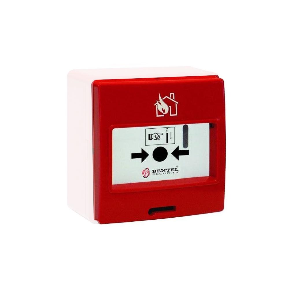 Buton de incendiu adresabil Bentel MCP-5A, 15 - 30 Vcc imagine spy-shop.ro 2021