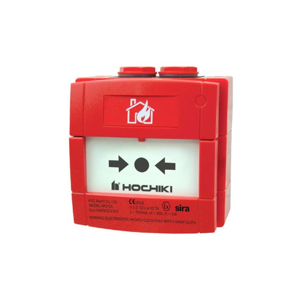 Buton de incendiu conventional ANTI-EX de exterior Hochiki CCP-W-IS/SIL, ATEX II 1GD Ex ia IIC T4 Ga, SIL2, IP67 imagine spy-shop.ro 2021