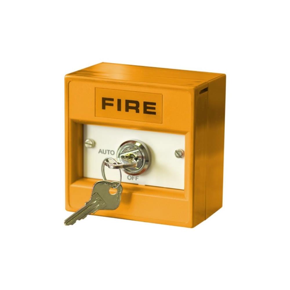 Buton de incendiu conventional cu cheie Hochiki CDX CCP-KS02, 2 pozitii, IP24D, ABS portocaliu imagine spy-shop.ro 2021
