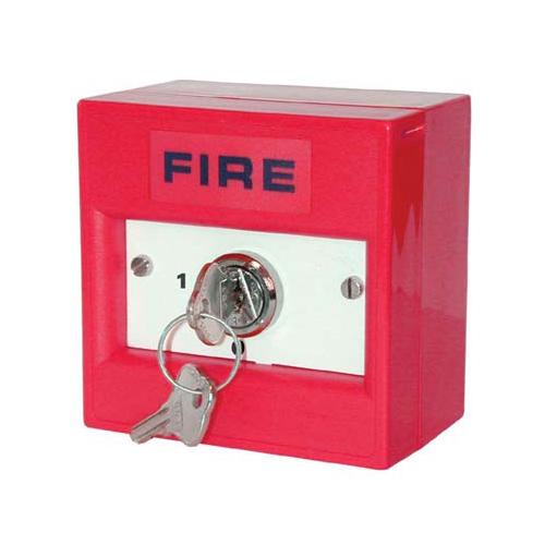 Buton de incendiu conventional cu cheie electrica WR9101-SB K20SRS, NC/NO imagine spy-shop.ro 2021